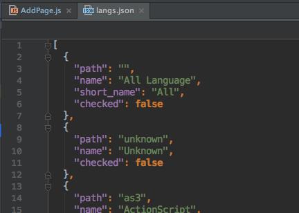 React Native 读取本地的json文件-1