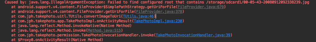 Caused by- java.lang.IllegalArgumentException- Failed to find configured root that contains