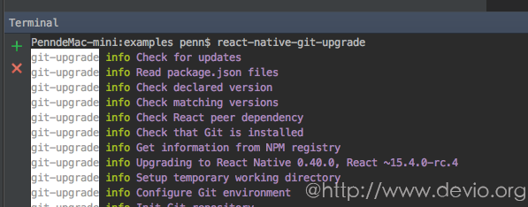 react-native-git-upgrade