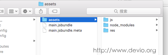 生成jsbundle