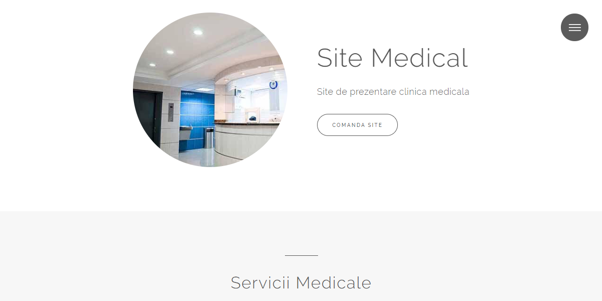 Site Medical, Reflex design - Un produs Websitemarket
