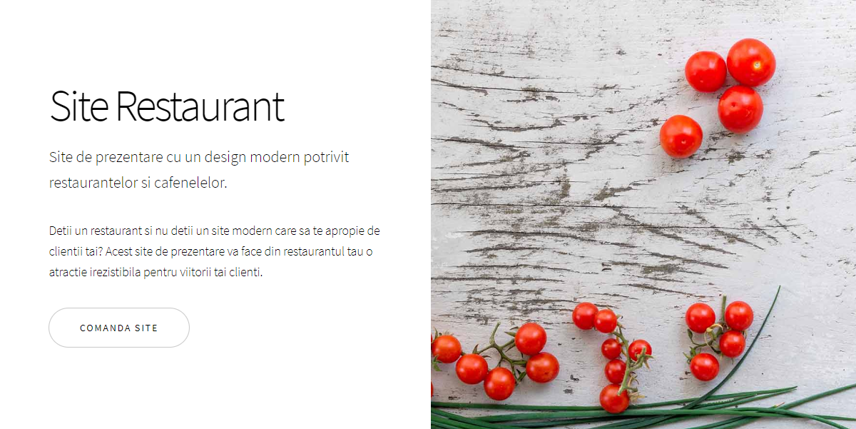 Site Restaurant - Story Design