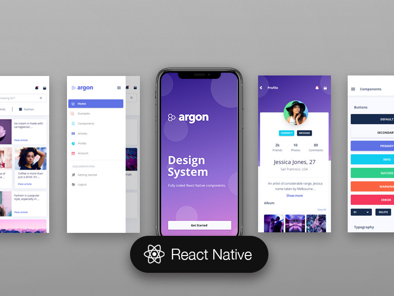 GitHub - creativetimofficial/argon-react-native: Argon React Native