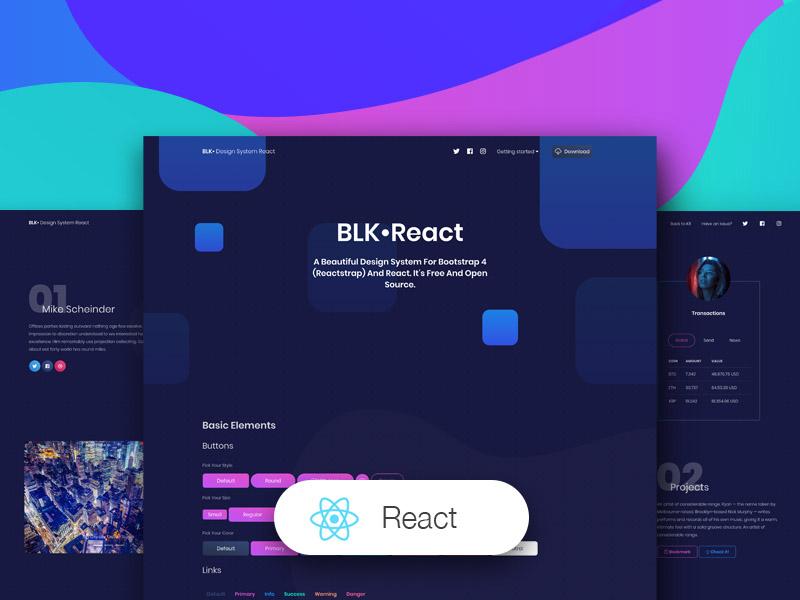 BLK Design System  React