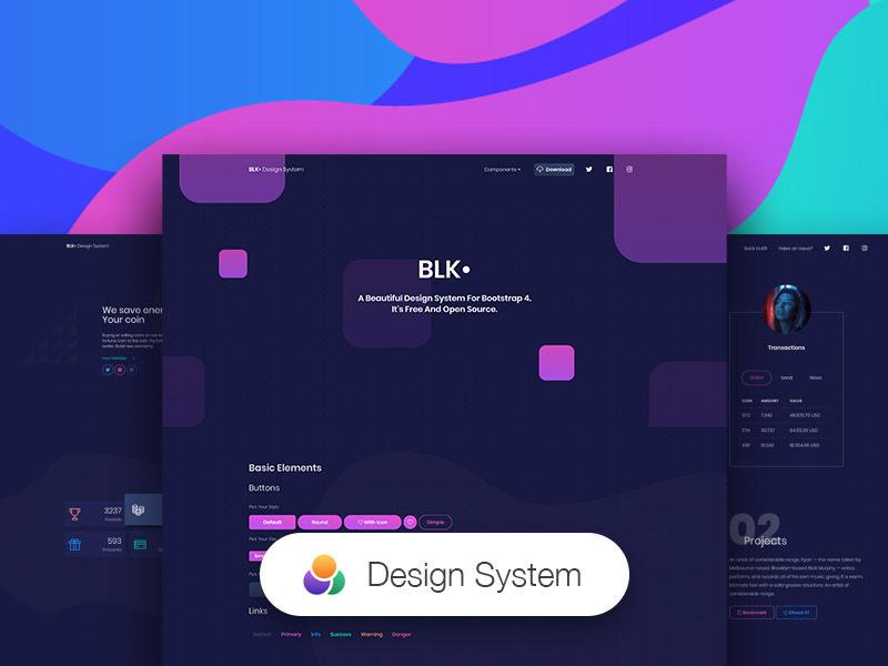 BLK Design System  HTML