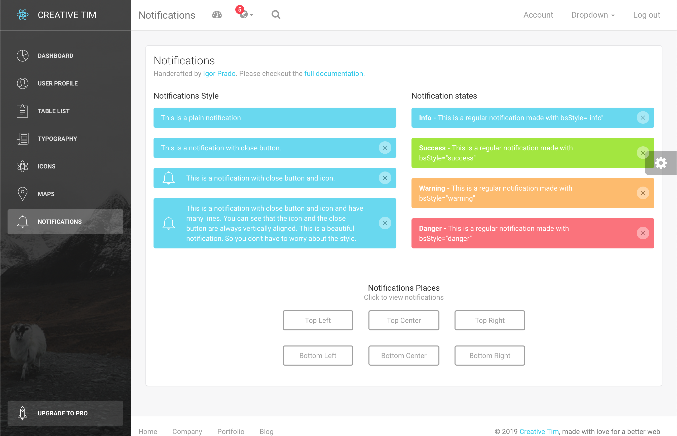 GitHub - creativetimofficial/light-bootstrap-dashboard-react
