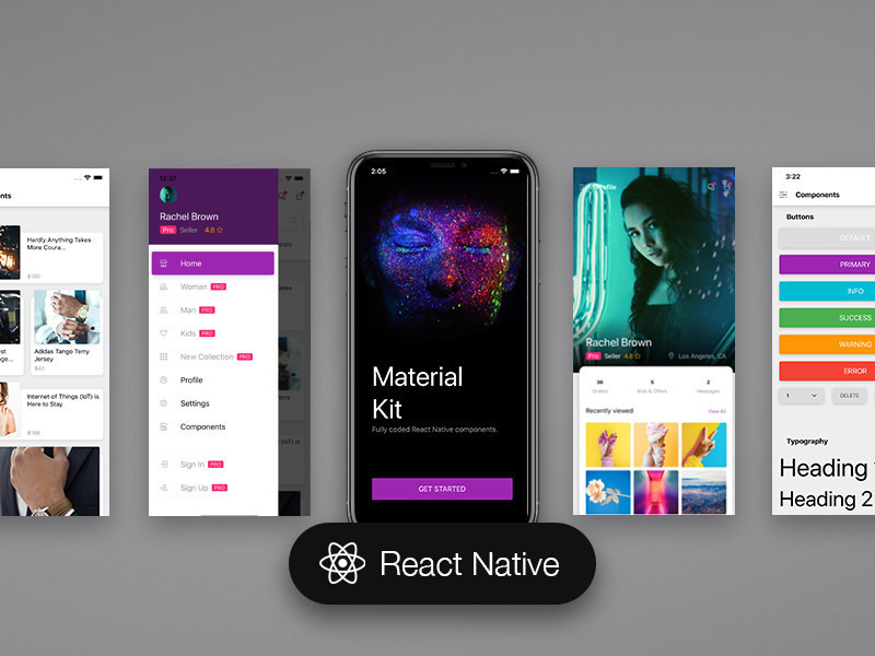 Material Kit React Native