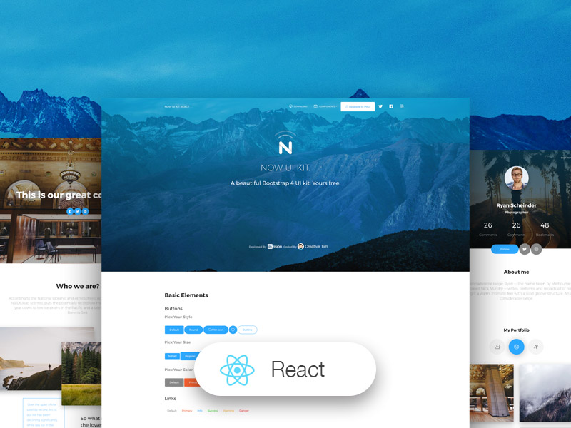 Now UI Kit React