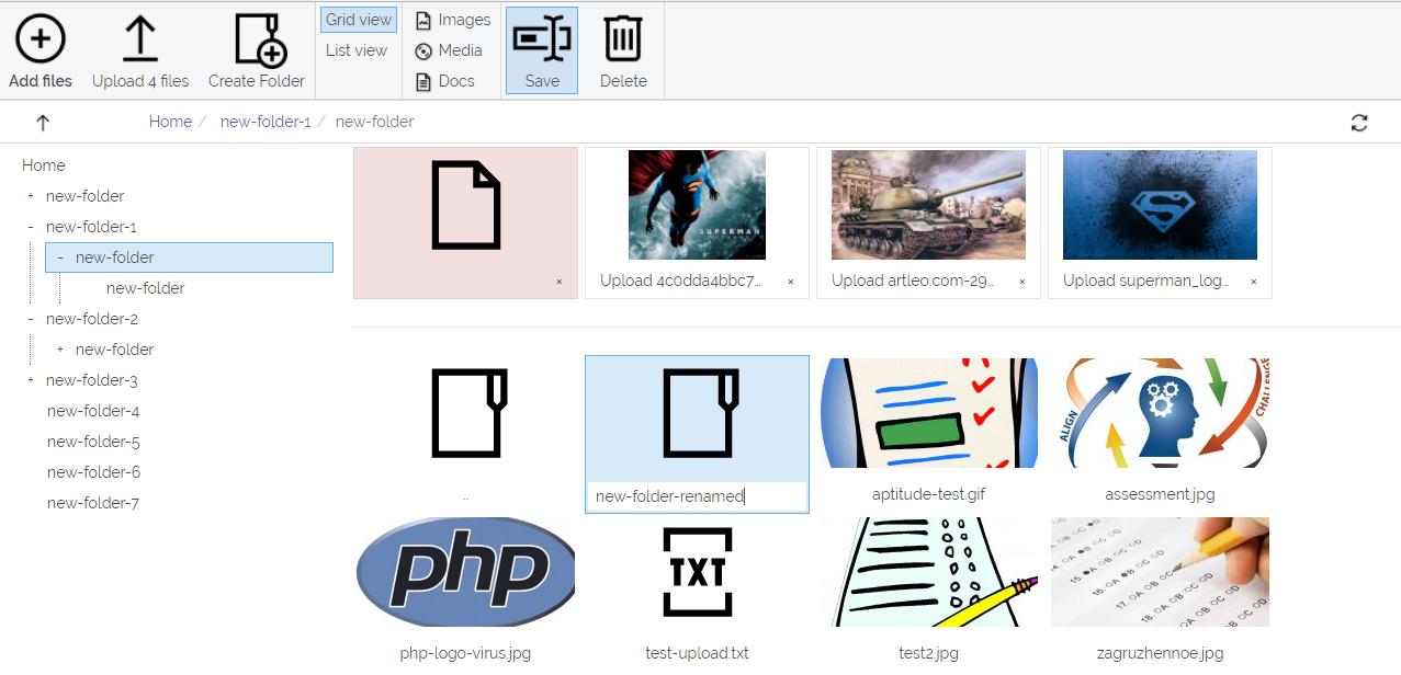 GitHub - crip-laravel/filesys: Laravel file manager extension
