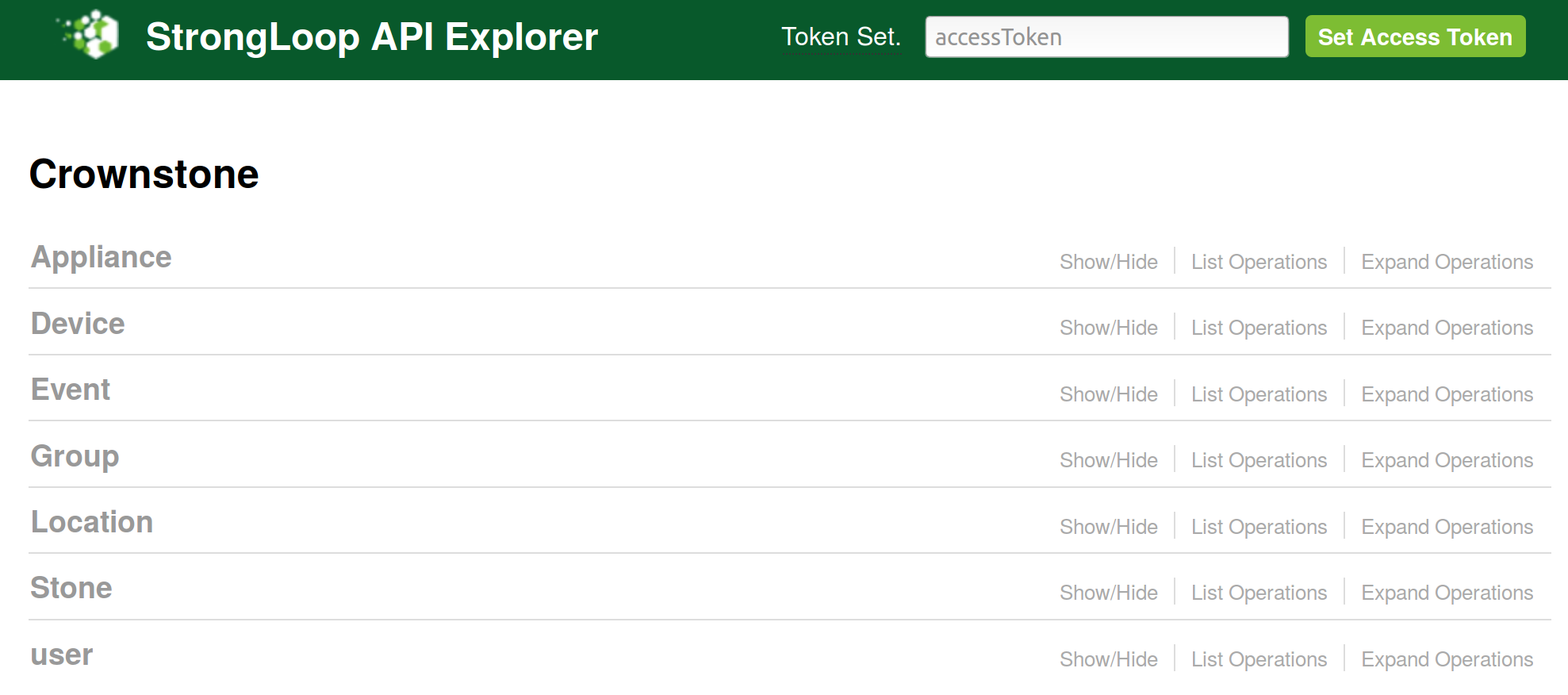 Image of Strongloop API Explorer