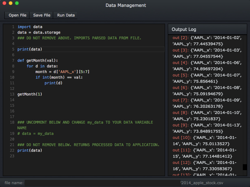 iD3 Data Management