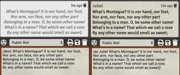 alternative chat commands