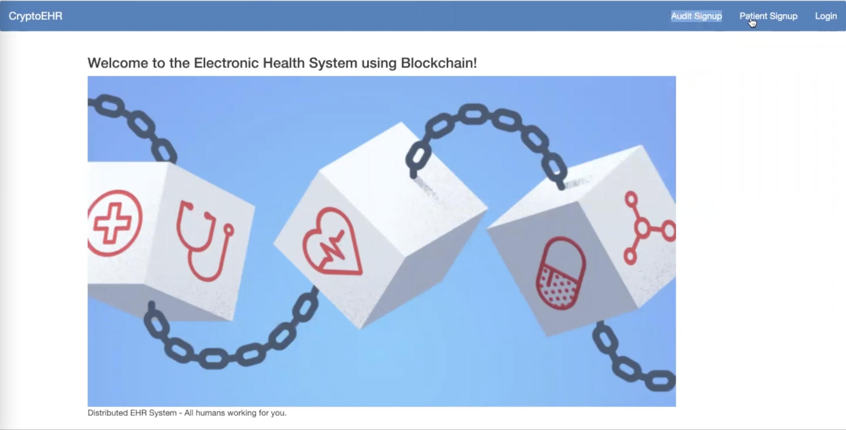 EHRBlockchain - EHRB锁链