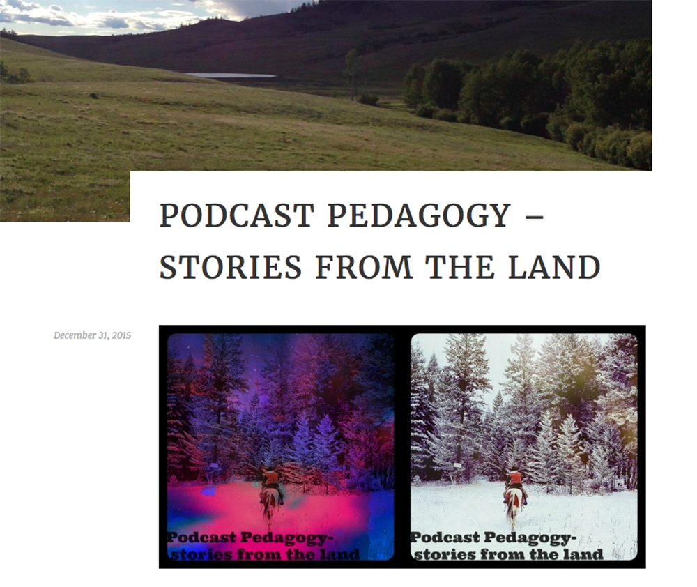 Podcast Pedagogy