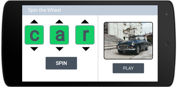 Spin Wheels Game