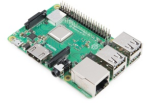 Плата микрокомпьютера Raspberry Pi 3