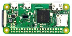 Плата микрокомпьютера Raspberry Pi Zero W