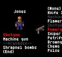 Grenade selection