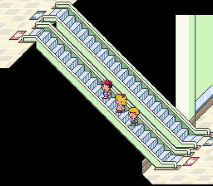 earthbound stairs