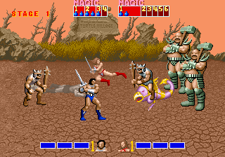 Golden Axe bad brothers