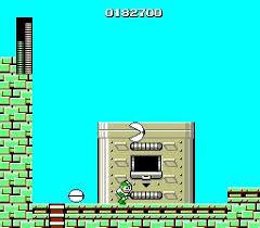 Megaman enemy using Cutman weapon