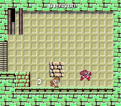 Megaman Cutman boss fight