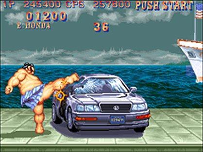 Street Fighter 2 car