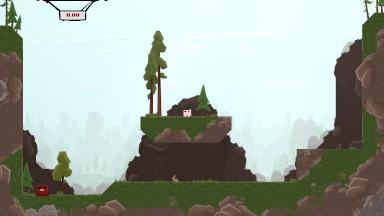 Super Meat Boy hills