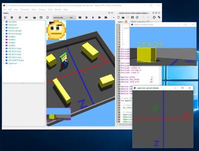 Webots documentation: The 3D Window