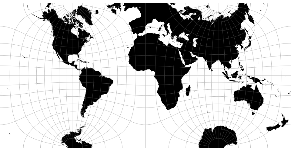 Github d3d3 geo projection extended geographic projections for the guyou hemisphere in a square projection peirce is credited with its quincuncial form gumiabroncs Images