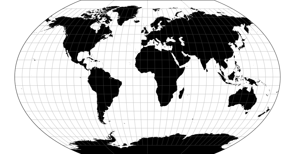 The Kavrayskiy Vii Pseudocylindrical Projection