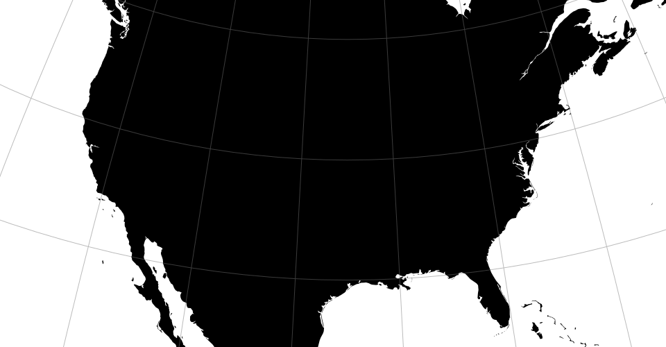 GitHub Ddgeoprojection Extended Geographic Projections For - D3 us states map