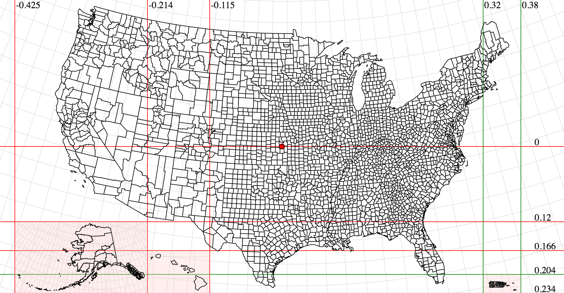 GitHub Ddgeo Geographic Projections Spherical Shapes And - How to create us map with d3