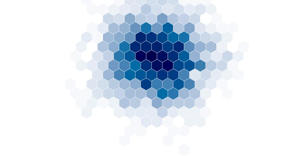 GitHub - d3/d3-hexbin: Group two-dimensional points into