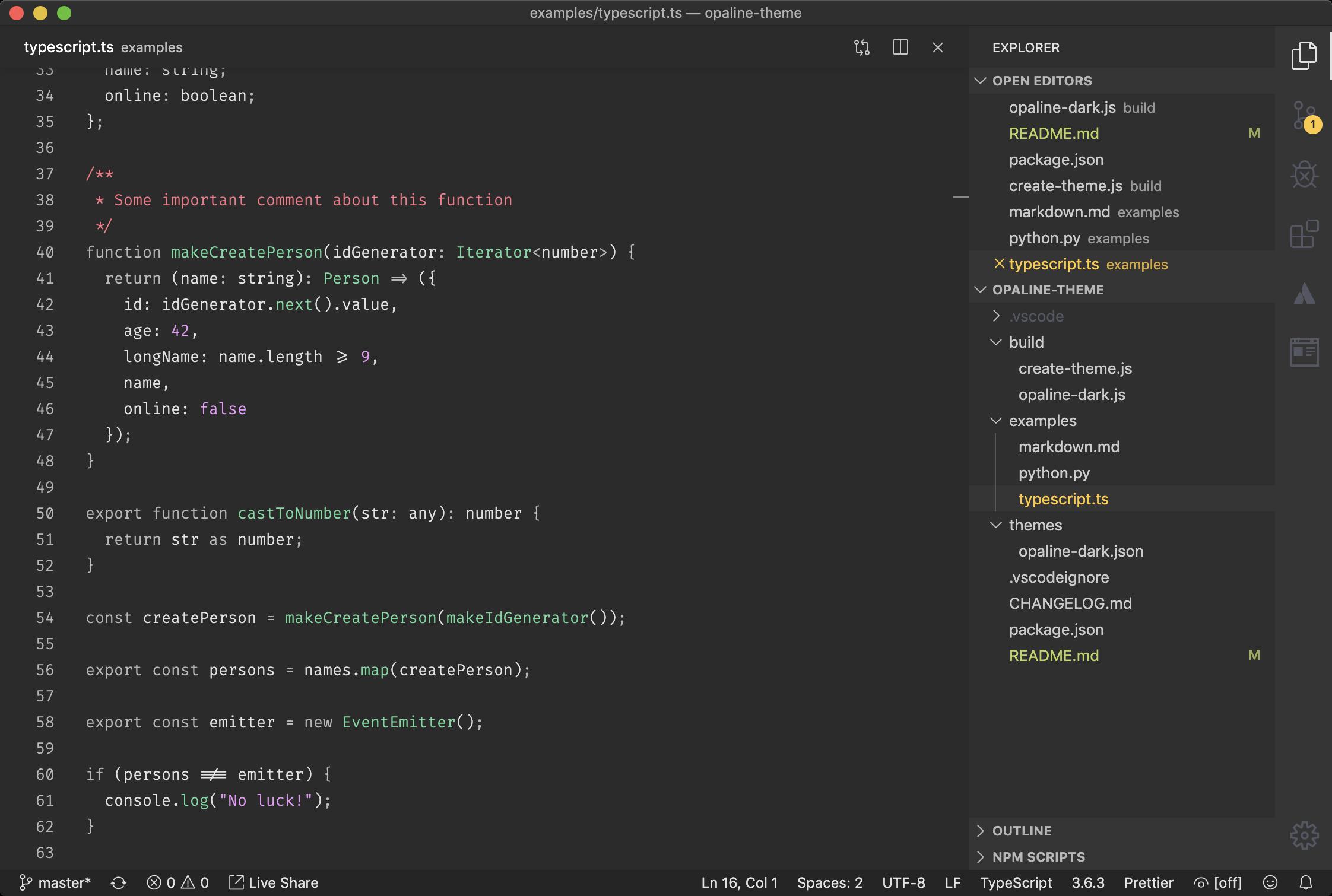 TypeScript / JavaScript