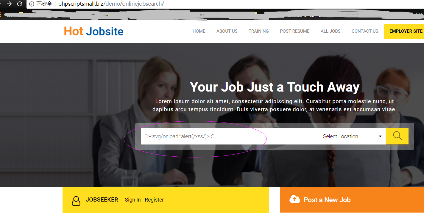 Vulnerabilities Report Ready Made Job Site Script Md At Master