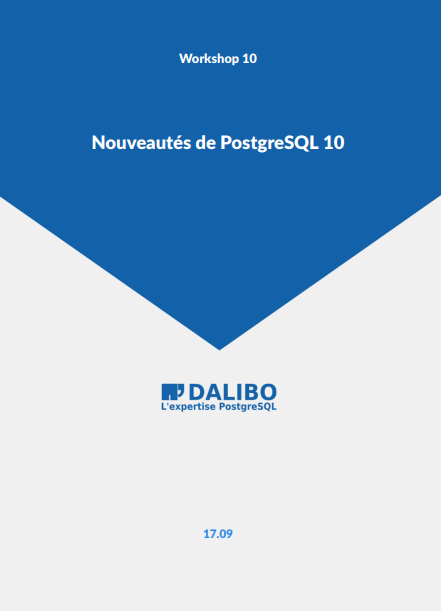 PostgreSQL 10 Workshop