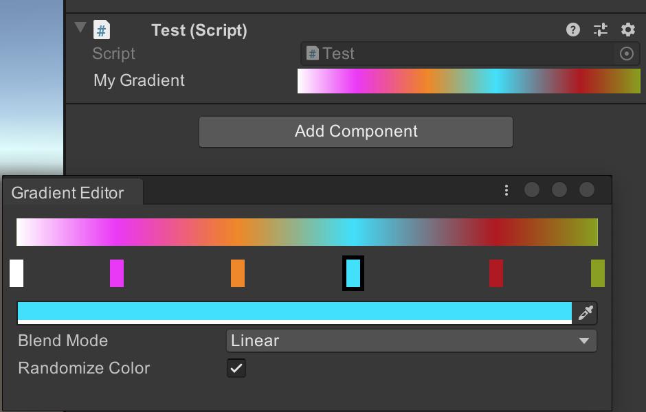 A Custom Gradient Editor in Unity