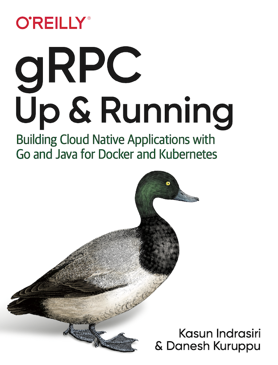 gRPC Up and Running - Cover