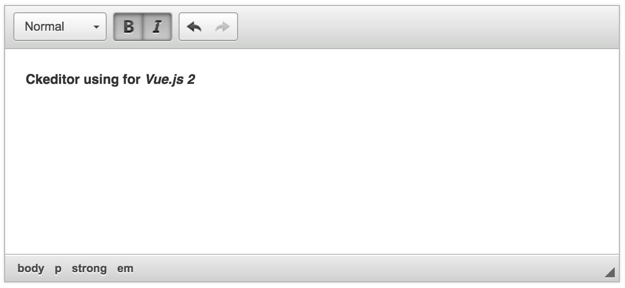 GitHub - dangvanthanh/vue-ckeditor2: Ckeditor using for Vue js 2
