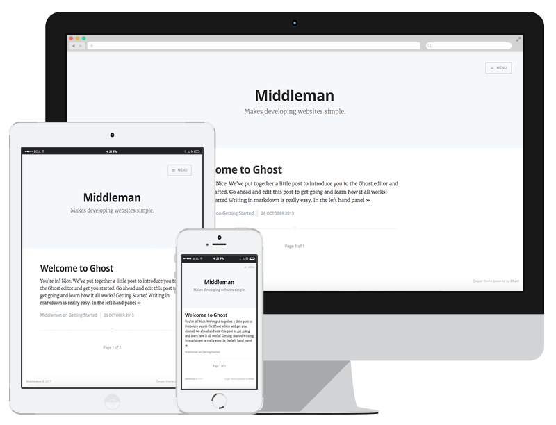 middleman-casper screenshot