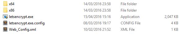 LetsEncrypt Tool Folder