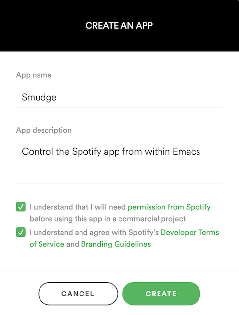 Creating a Spotify App 1/3