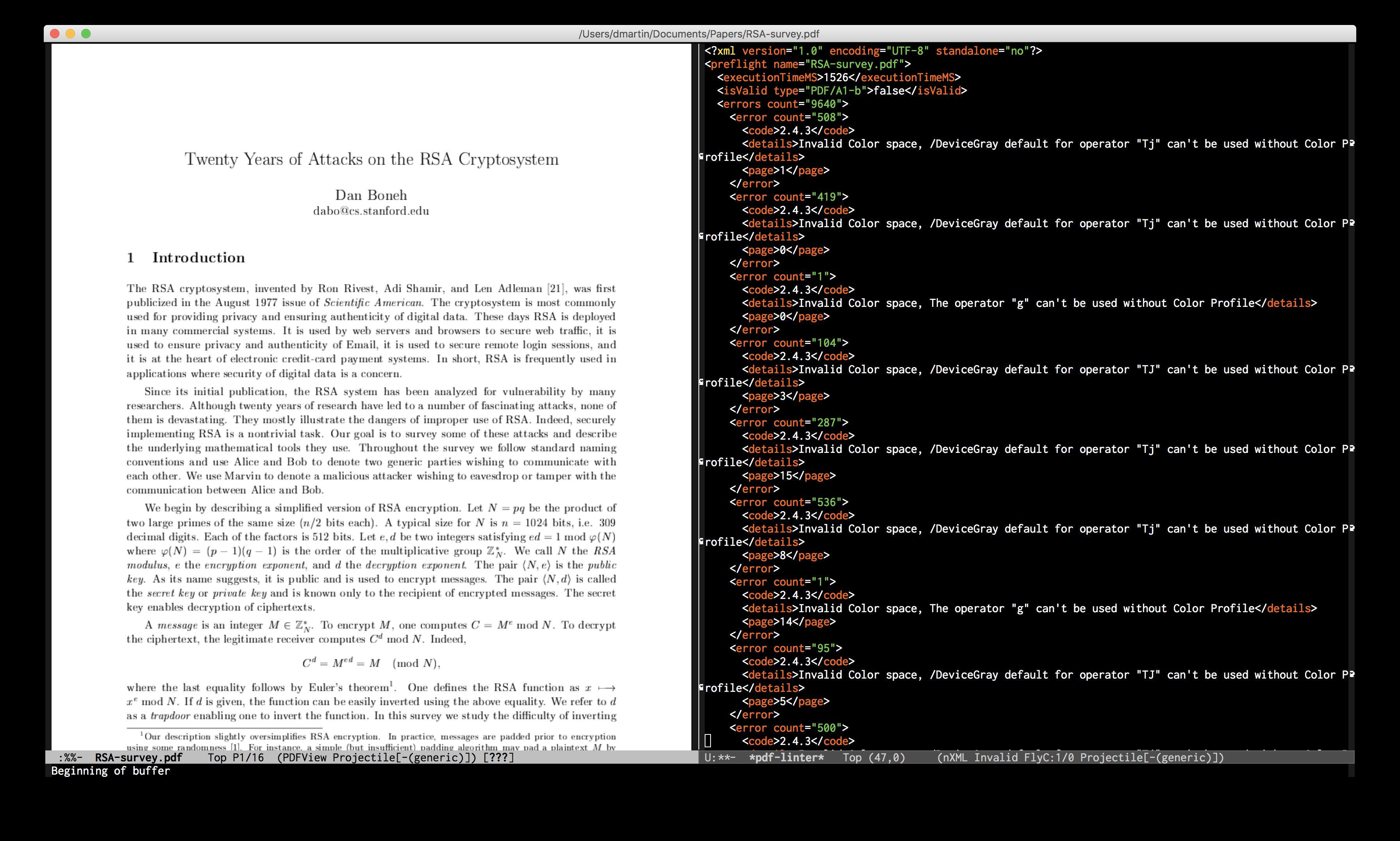 GitHub - danielmartin/pdf-linter: Lint PDF documents from