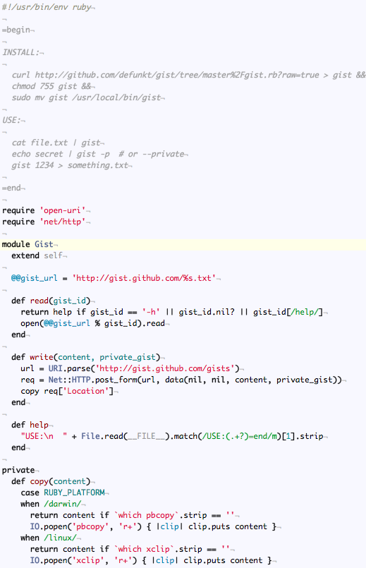Syntax Highlighting screenshot