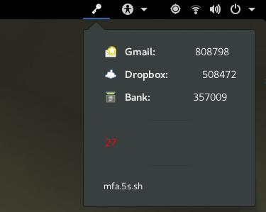 MFA Screenshot