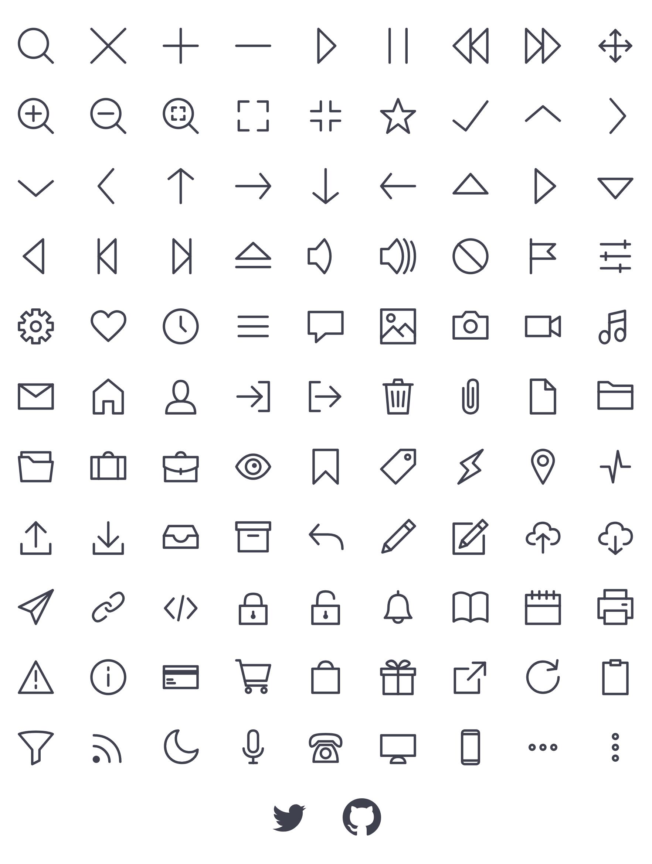 Bytesize Icons