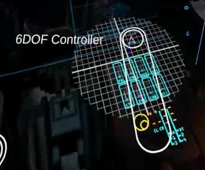 Virtual 6DOF controller