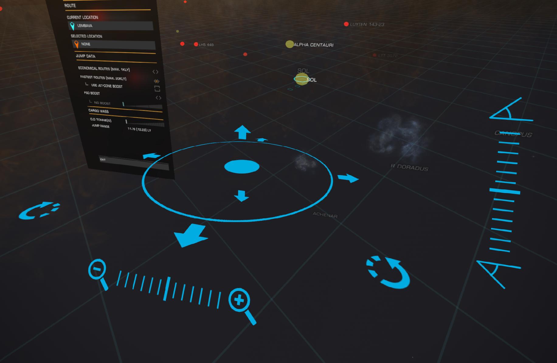 Elite VR Cockpit