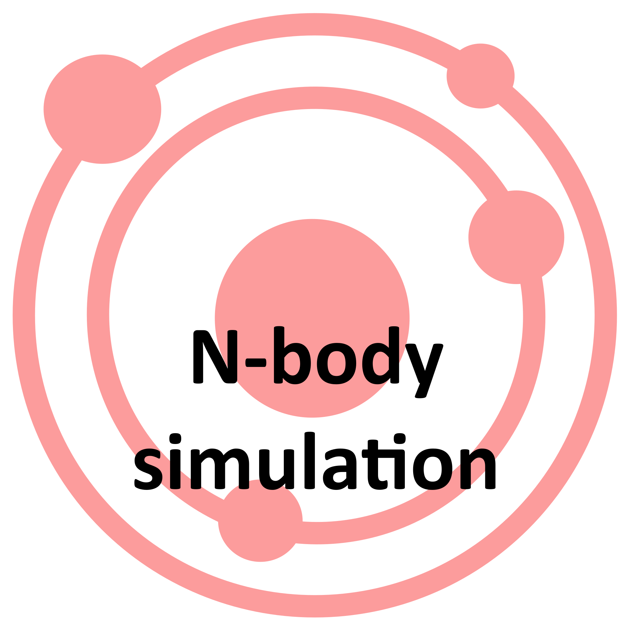 N-body simulation's icon